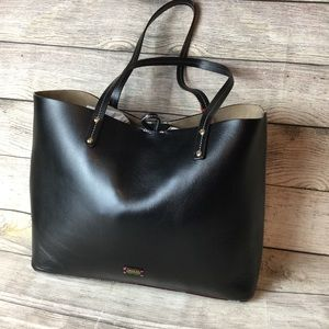 NWT Frances Valentine Trixie Leather Tote